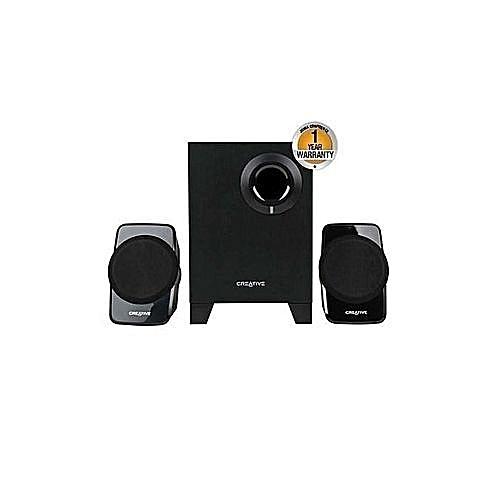 2.1 - Speakers A120 - Black - Subwoofer