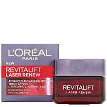 Revitalift Laser Renew Anti-Aging Moisturiser - 50ml.