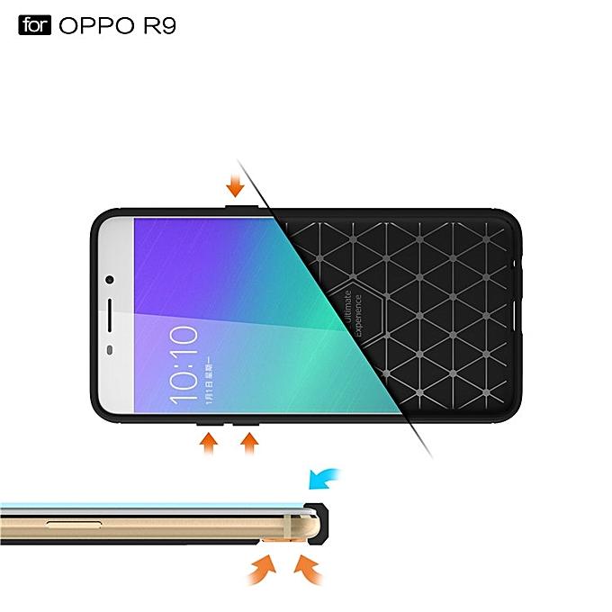 Luxury Environmental Carbon Fiber Case For Oppo F1 Plus Cover Shell Mobile Phone .