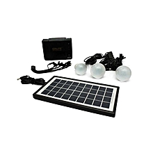 Solar Lighting System – Black