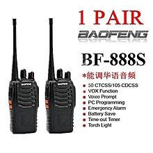 LEBAIQI  (2UNITS)High Quality Stable BAOFENG 888S WALKIE TALKIE Radio Travel