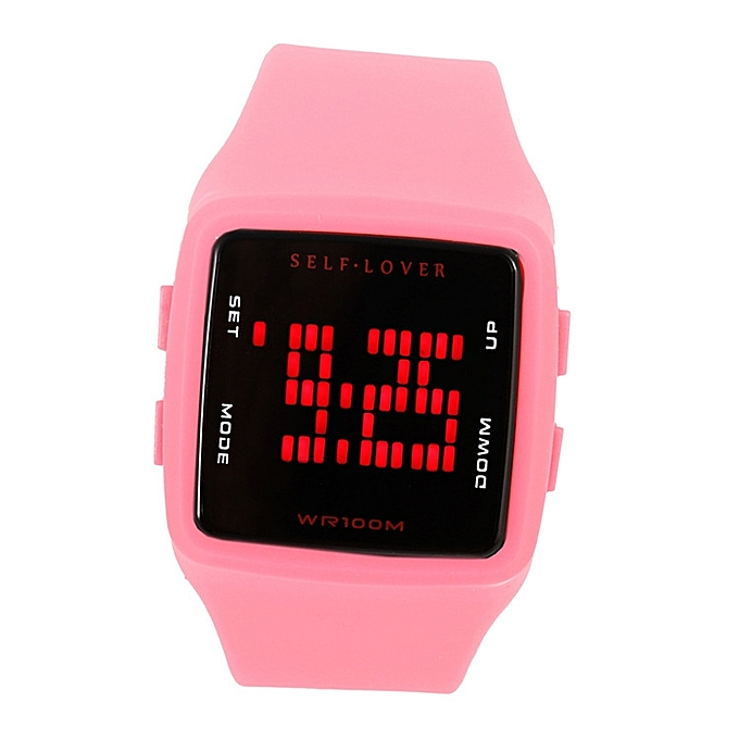 The Time Alarm Clock Function In Two Sides 12 Hours System Wrist Form Recreational College Breeze