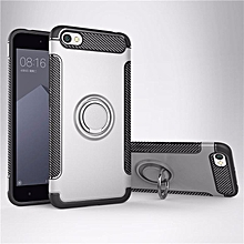 KZ Slim Fit Hybrid Dual Layer Armor Shock Absorption Rugged Defender with Ring Holder Kickstand Drop Protection Soft Rubber Bumper Case Cover for Xiaomi Redmi Note 5A   XXZ-Z