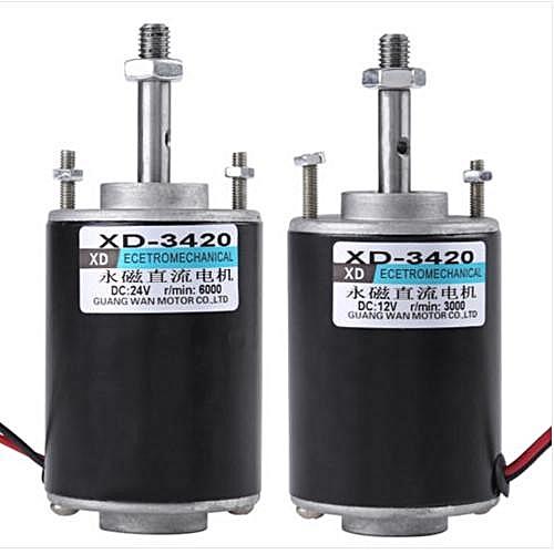 24V 30W Permanent Magnet DC Motor High Speed CW/CCW For DIY Generator HighQ