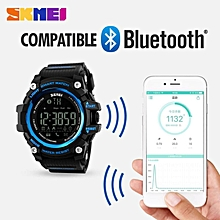 SKMEI Men Smart Watch Pedometer Calories Chronograph Fashion Outdoor Sports Watches 50M Waterproof Digital Wristwatches 1227 By HonTai