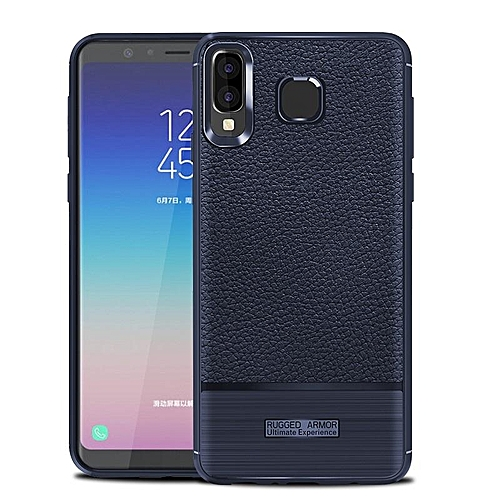 best sneakers 71960 ea6f0 For Samsung Galaxy A8 Star Case Luxury Litchi Pattern Soft Silicone Cover  For Samsung A8 Star Casing 236778 c-4 (Color:Main Picture)