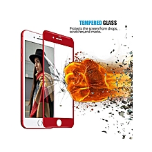 COOHO 2 Pcs iPhone 8/8 Plus Screen Protector 3D Curved ABS Soft Edge Middle Tempered Glass Film    IPHONE 8 PLUS    black