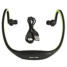 USB Sport Running MP3 Music Player Wireless Headset Headphone Earphone TFSlot