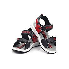 McKids Open Red Boys' Sandals