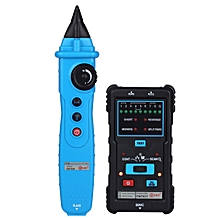 BSIDE FWT01 Handheld Network Lan Cable Tester Rj45 Rj11 Ethernet Telephone Line Tracker Finder - Blue