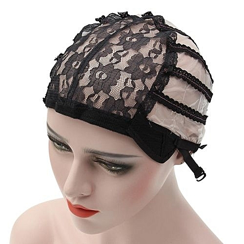 Beauty Wig Cap Making Wigs Straps Breathable Mesh Weaving