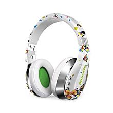 Bluedio 15Hz~25KHz A / Air Wireless Bluetooth V4.1 HiFi Headphone with Highly Flexible Headband (White)