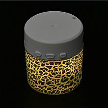 Speaker Portable Mini Stereo Bass Speakers Music Player Wireless TF Speaker GN-Green