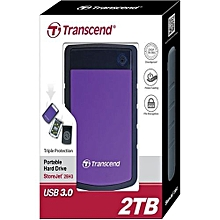 2TB External Hard Disk - Purple