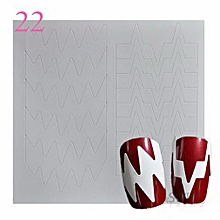 Fashion Nail Sticker Nail Paper Nail Art Decoration Nail Tool Nail Sticker