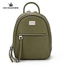 Women Mini Backpack Female PU Shoulder Bags