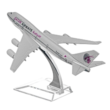 B747 Metal Plane Model Aircraft Boeing Diecast Airlines Aeroplane Scale Desk Toy