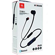 In-ear Bluetooth Headphones T110BT Black.