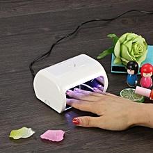 Nail Dryer Gel Polish Curing Lamp Machine Manicure Tool (White EU)