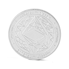 Clic Ethereum Coin Collection Currency Gift Commemorative-gold