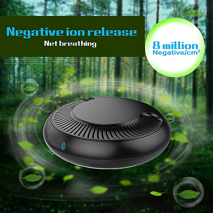 75b30492f ... Car Air Purifier with Filter Freshener Cleaner Negative Ionizer USB  Formaldehyde Bacteria Odor Purifying Device Auto ...