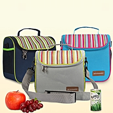 Honana CF-LB060 Woman Lady Waterproof Insulated Cooler Lunch Tote Bag With 2 Detachable Liners