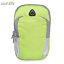 Outlife Universal Sport Gym Fitness Arm Bag - Green