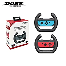 Dobe Steering Wheel Joy-Con Controllers Game Accessories Left & Right Direction Manipulate for Nintendo Switch Joy-Con WWD