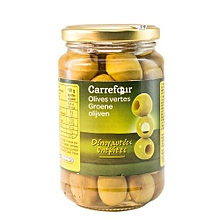 Pitted Green Olives - 37cl