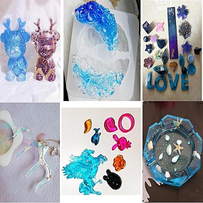 A B crystal adhesive epoxy resin transparent adhesive hand-made adhesive  dried flower specimen hard adhesive glue