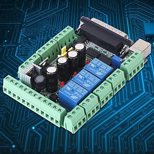 CNC Engraving Machine MACH3V2 1-L Breakout Board Adapter 4-axls 6-axls  Controller
