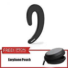 REMAX RB-T20 Ultra Thin Mini Wireless Bluetooth 4.1 Earphone with Mic Headset Noise Canceling with Free Earphone Pouch JY-M