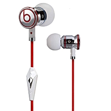 Monster Beats by Dr Dre iBeats 3.5mm Wired Headset In Ear Stereo Music Headphones Smart Phone Earphone Hands-free with Microphone