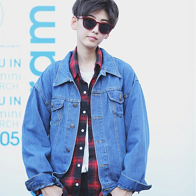 5f81677ac2d Men s Denim Jacket Male Loose Korean Version Wearing A Jacket Jacket  Japanese Retro Long-sleeved