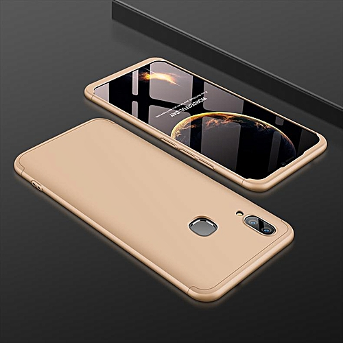 los angeles bc91a 2ddad Phone Case For VIVO V9 Case Luxury 360 Degree Full Protection Shockproof  Armor Hard Plastic For Vivo Y85 Coque Fundas Capa (Gold)