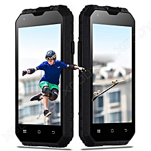 Unlocked Android 6.0 Rugged Smartphone Dual SIM Tough Mobile Phone 3G 4Core 16GB -black