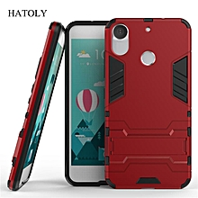 For HTC Desire 10 Pro Case Shockproof Robot Armor Case Hybrid Silicone Rubber Hard Back Phone Cover For HTC 10Pro 5.5""