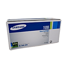 Samsung 108 Black Toner Cartridge