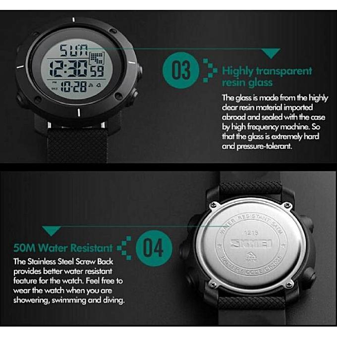 ... SKMEI Men Sport Watch Simple Digital Watches Double Time Countdown  Clock Minimalist Watch Waterproof Wristwatches Jam ... ff9f9ee7b0