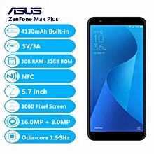 ZenFone Max Plus ( M1 )4G 5.7 Inch Android N 3GB+32GB-Silver