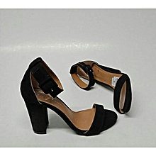 classy chunky heels