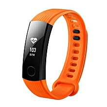 HUAWEI Honor Band 3 Smartband Heart Rate Monitor Calories Consumption Pedometer  ORANGE