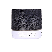 A9 Mini Wireless Bluetooth Round Speaker - Black
