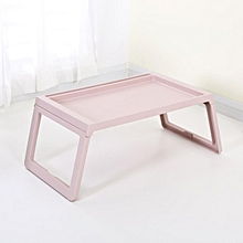 Foldable Desk Laptop Stand Breakfast Bed Tray Computer Portable Serving Table