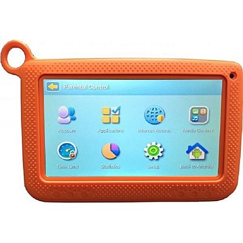K72 Kid Tablet-7 Inch -8 GB -Wifi -Quad Core -1.2GHz -Orange