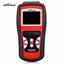 KW830 OBD2/ EOBD Car Diagnostics Auto Scanner Automotive Fault Code Reader Diagnostic tool Car detector Automotive Tools Can Detect Battery LBQ