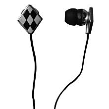 Keenion KDM-E200 In-ear Earphones 3.5mm Plug Black Yellow 【Black】
