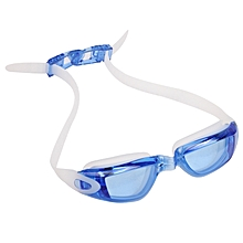 Uv Shield Anti-fog Swimming Goggles With Ear Plug(blue)