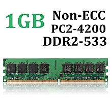 1GB DDR2-533 PC2-4200 Non-ECC Computer Desktop PC DIMM Memory RAM 240pins chip