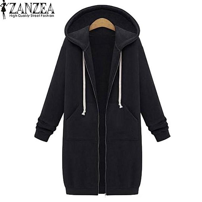 b4cf7fe9f ZANZEA New Arrival ZANZEA Winter Coats Jacket Women Long Hooded ...